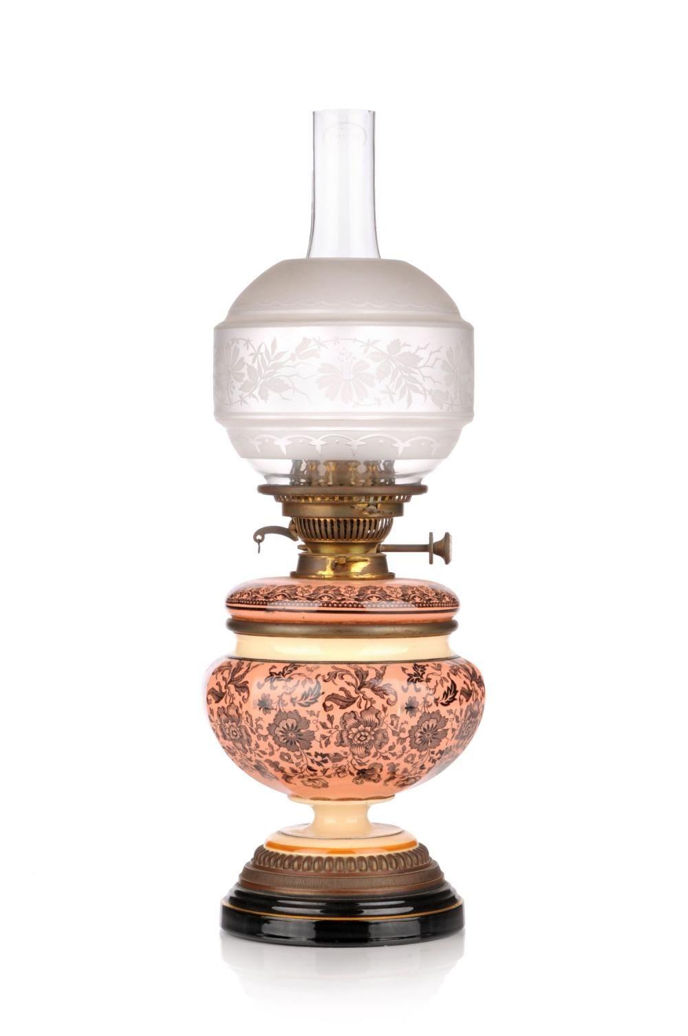 Petroleumlampe James Hinks Son Birmingham Grossbritannien Spaetes 19th Cent Antique Oil Lamps Oil Lamps Kerosene