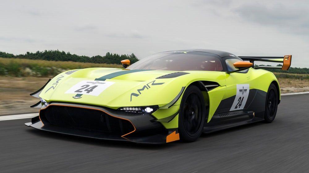 Aston Martin Upgrades The 820 Hp Vulcan With An Amr Pro Package Aston Martin Vulcan Aston Martin Aston Vulcan