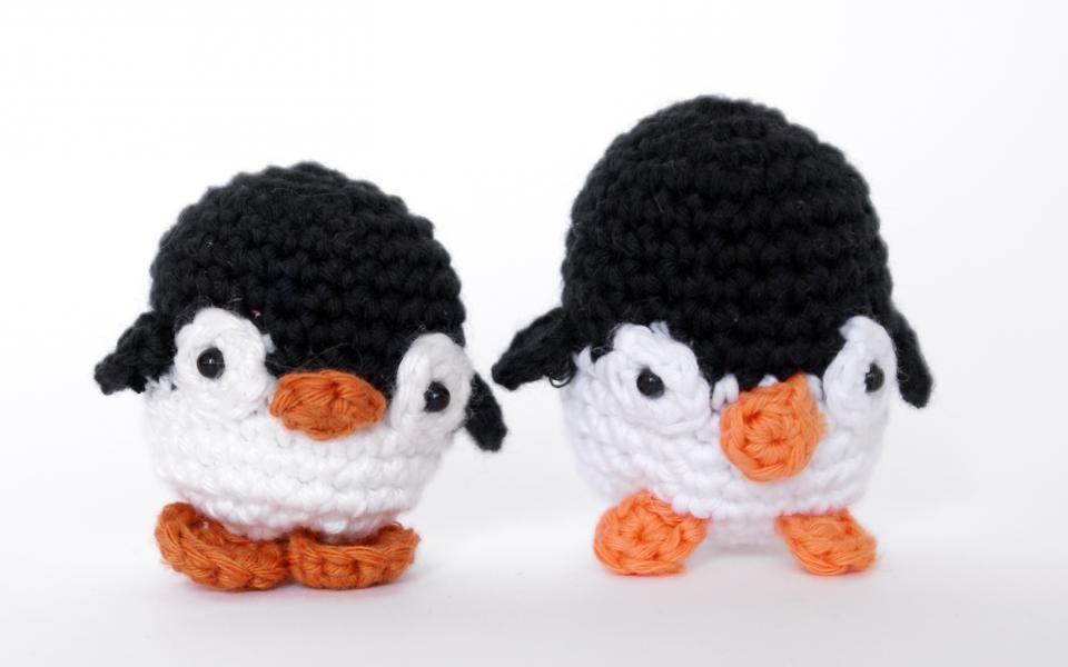 Amigurumi Tutorial Gratis : Tutorial pinguino amigurumi crochet ganchillo patrón gratis con