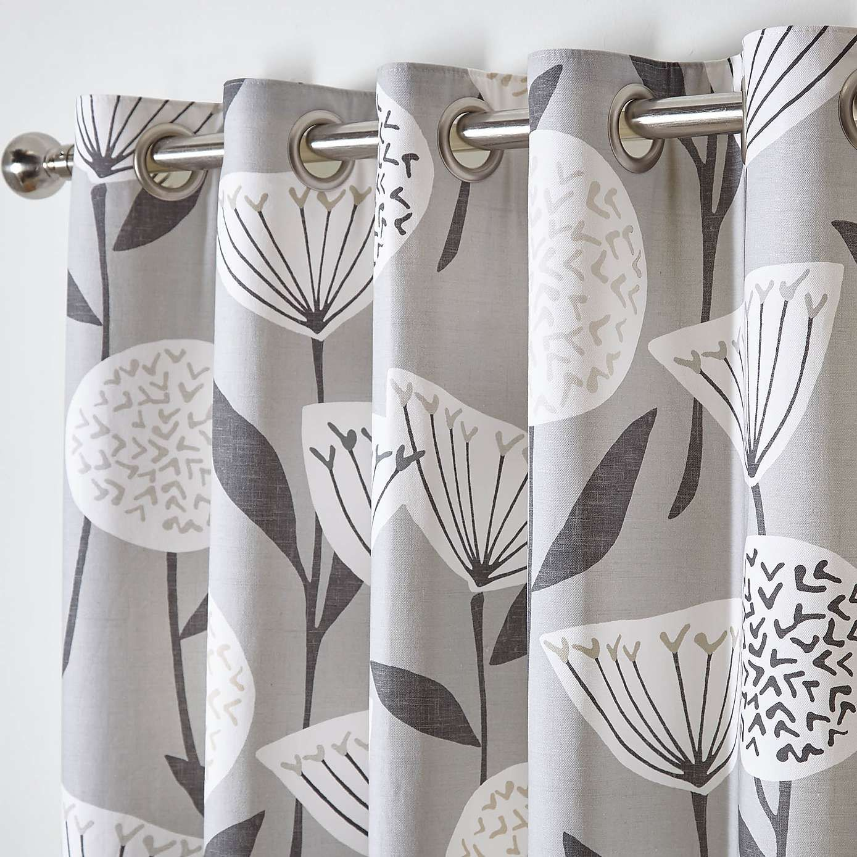 Elements emmott grey eyelet curtains living room pinterest