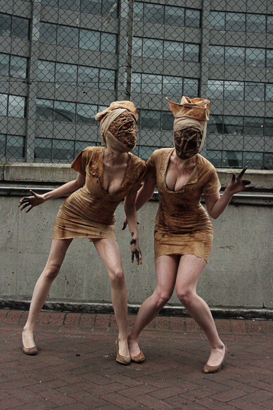 Mascara de la Enfermera de Silent Hill  Enfermera de silent hill