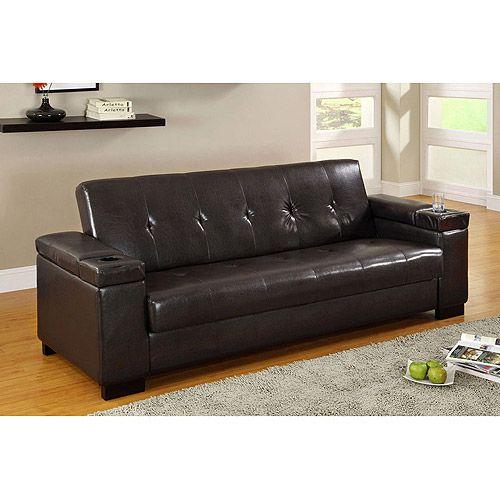 walmart futons Futon with Storage at Walmartcom Save money