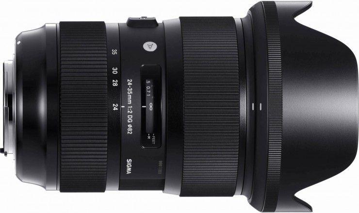 Sigma S New 24 35mm F 2 Is The Fastest Full Frame Zoom Lens Ever Made Zoom Lens Dslr Lenses Lens
