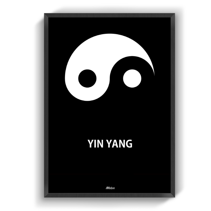 Pin Pa Sort Hvid Plakater