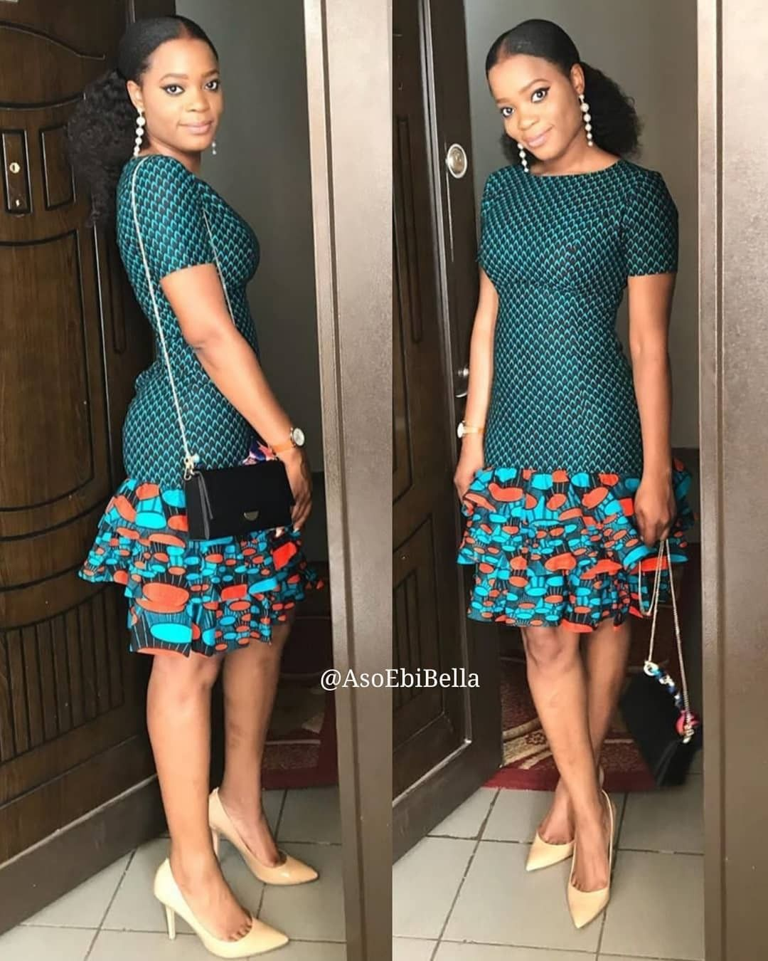 2019 Fascinating Ankara Gown Styles #africanfashion