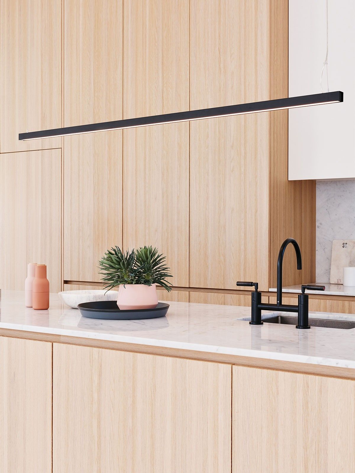 Ledlux Strix Led 2400 Lumen Dimmable Pendant In Black Modern Pendants Pendant Lights