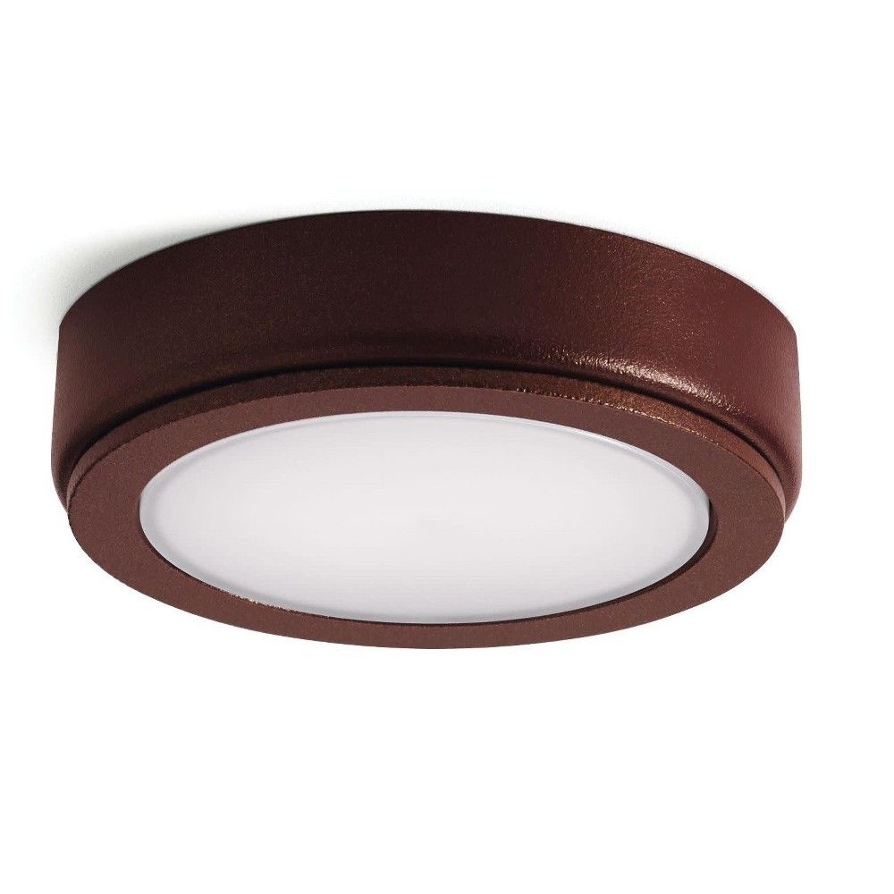 Kichler 4d12v30 4d 12 Volt Led Under Cabinet Puck Light 3000k Textured Puck Lights Kichler Light Texture