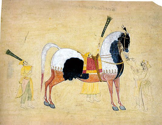 The Stallion Kitab Attributed to Bhavanidas (active ca. 1700–1748)