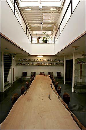 Car Ferry Houseboat Dining Room, The New York Times U003e Home U0026 Garden U003e Slide