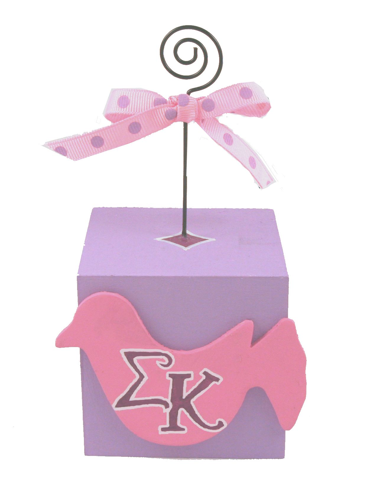 Sigma Kappa photo/note holder made using supplies and custom ...