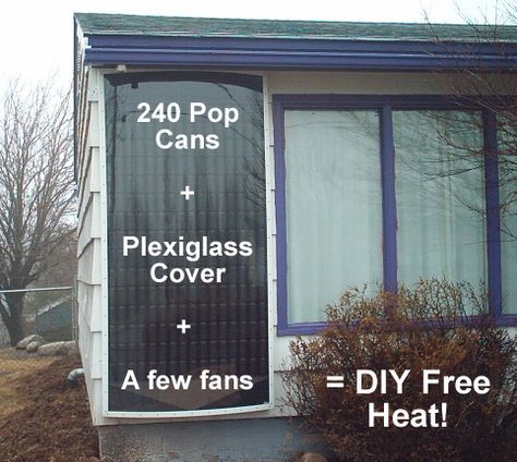 How To Go Green This Winter With Diy Free Heating Solar Power