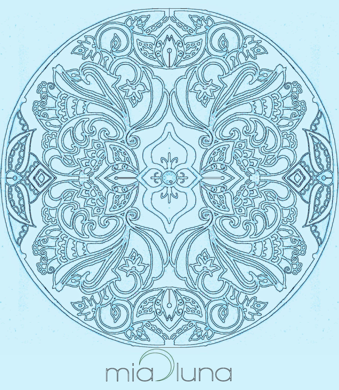 meditation design for third eye by Mia Luna
