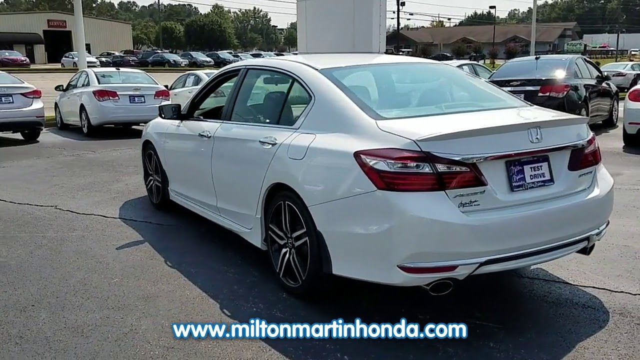 USED 2016 Honda ACCORD 4DR I4 CVT SPORT at Milton Martin