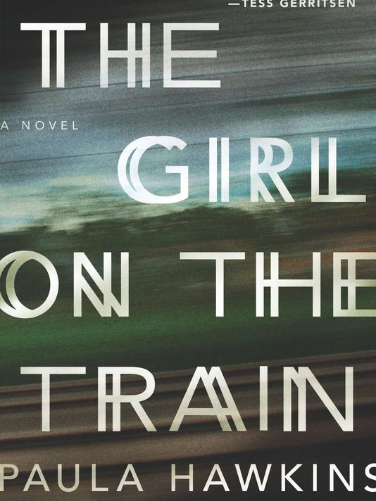 Paula Hawkins has the No. 1 book of the year with 'The Girl on the Train.'