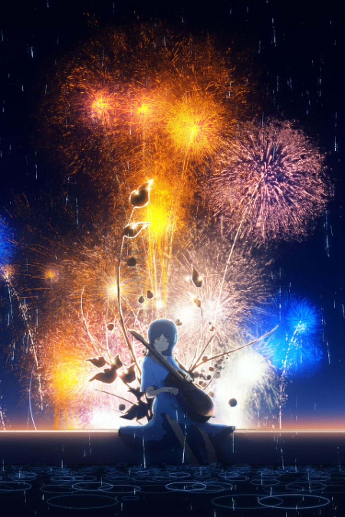 Save Follow The Invader Fireworks anime hd wallpaper