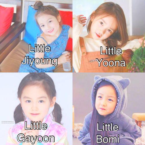 Cuuuuuuuuuute Little Kpop Idols Ulzzang Kids Yoona Kids