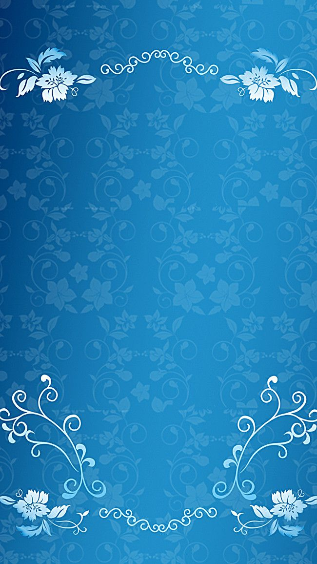 Pattern Wallpaper Seamless Design Background Blue