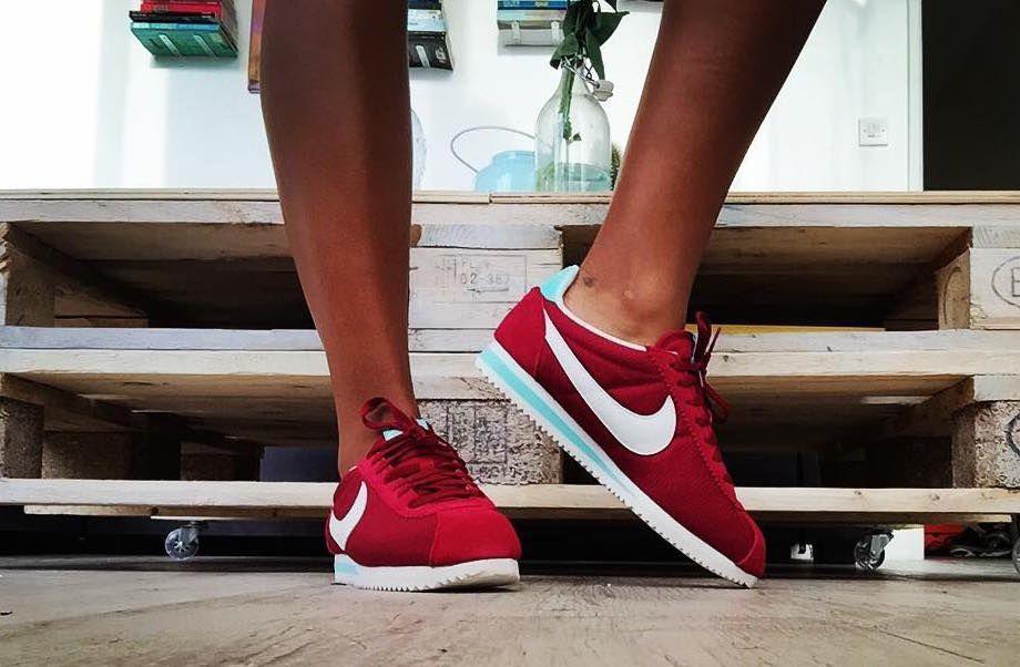Rentrée 2016 : sélection de sneakers bordeaux   Nike Cortez