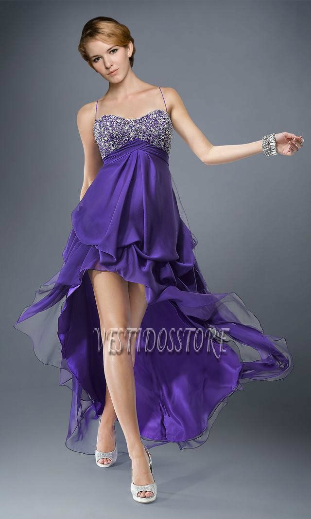 Me gustan mucho los vestidos de fiesta purpuras | vestido para una ...