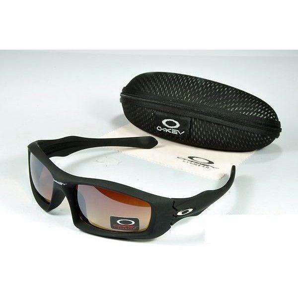 $14.99 Fake Oakley Monster Dog Sunglasses Brown Lens Black Frames Deals  www.racal.org