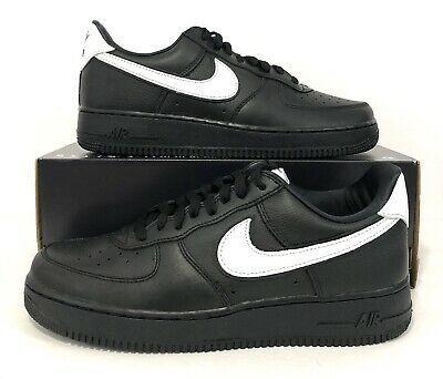 eBay Sponsored) Nike Air Force 1 Low Retro QS Black White