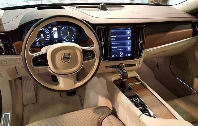 Volvo S90 Interior >> Awesome Volvo S90 Inscription Interior Looks So