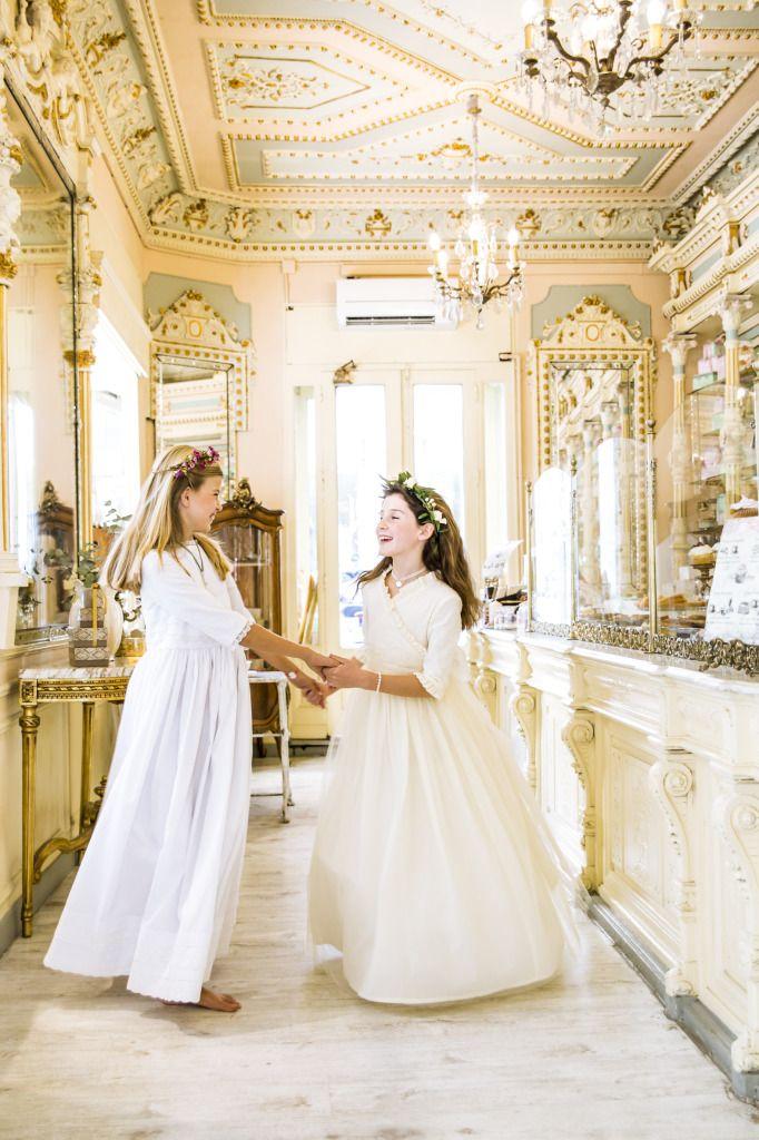 En el Shooting que organizamos desde Bautizo y Comunión  hace unas semanas pudimos contar con los preciosos vestidos de Primera Comunión de la diseñadora Itziar Armand que pertenecen a la colección de 2016 de Beychi.