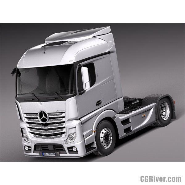 Mercedes Actros Truck 2014 - 3D Model