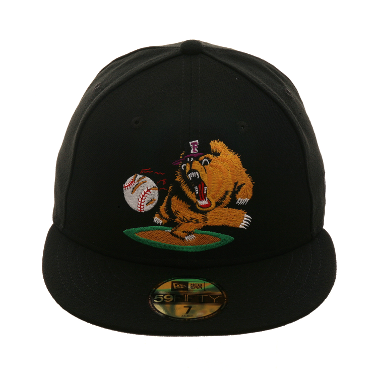 Fresno Grizzlies 100 Polyester Made In Usa Hat Club Exclusive Pin Included New Era 59fifty Hats New Era