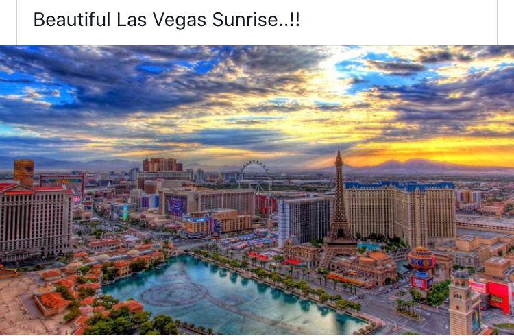 Sunrise Sunrise Wallpaper Bellagio Las Vegas Hd Nature Wallpapers