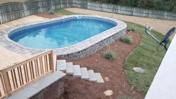 Stealth Semi Inground Pools From Pool Amp Spa Depot Are