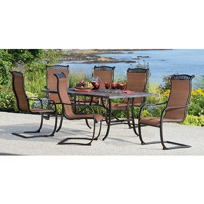 Toscano 7 price set from BJs | 7 piece dining set, Outdoor ...
