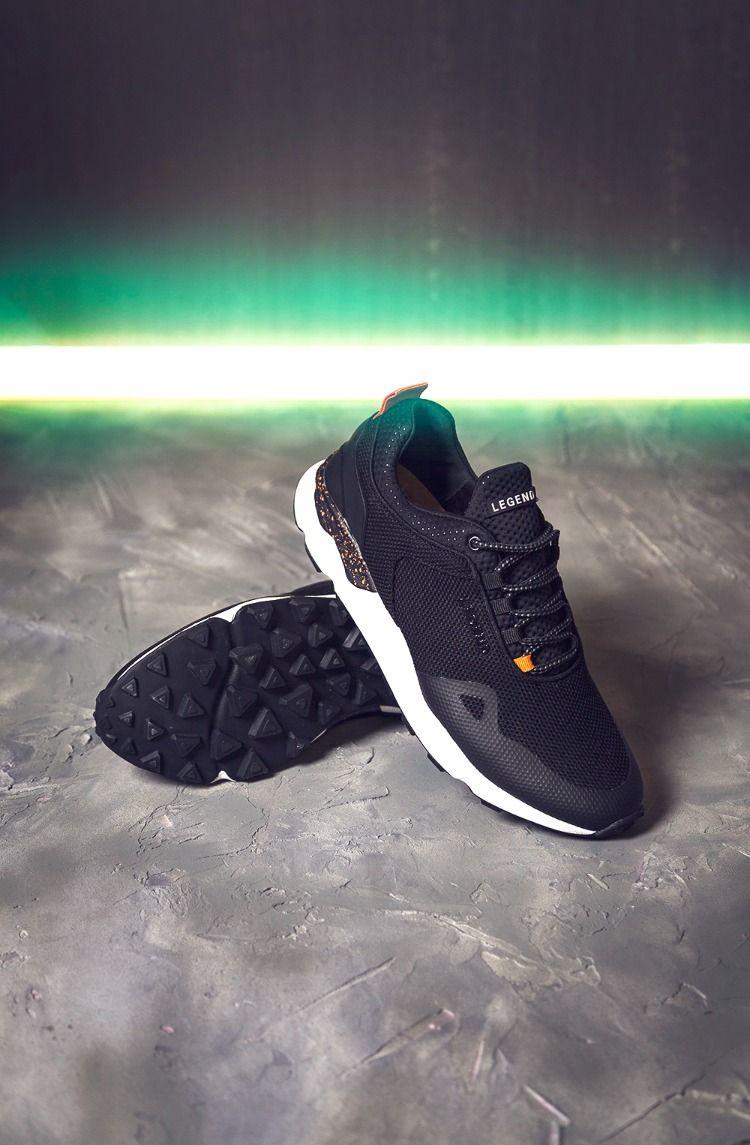 Vinka rytm Rubin  LEGEND Zayn Chunky Sneakers (med bilder) | Svarta sneakers ...