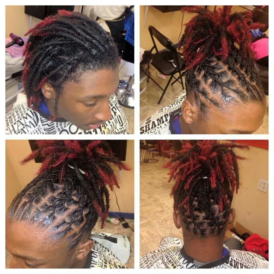 Retwist Using Our Ampro Pro Styl Protein Styling Gels Palm Roll Your Locks With Our Gel Providing Your Hai Short Locs Hairstyles Hair Styles Locs Hairstyles