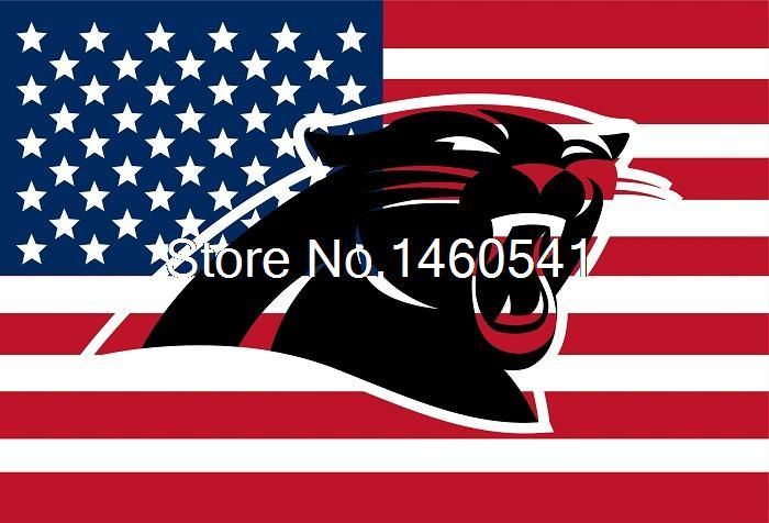 Find More Flags, Banners & Accessories Information about Carolina Panthers Hollow Out Shape with US Flag 3ft x 5ft Polyester NFL Team Banner Flying Size No.4 144* 96cm Custom flag,High Quality Flags, Banners & Accessories from Hangzhou Qingqing Imp Exp Co. LTD on Aliexpress.com