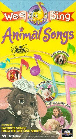 Wee Sing The Best Christmas Ever Vhs.Wee Sing Animal Songs Vhs Wee Sing Favorites Wee Sing