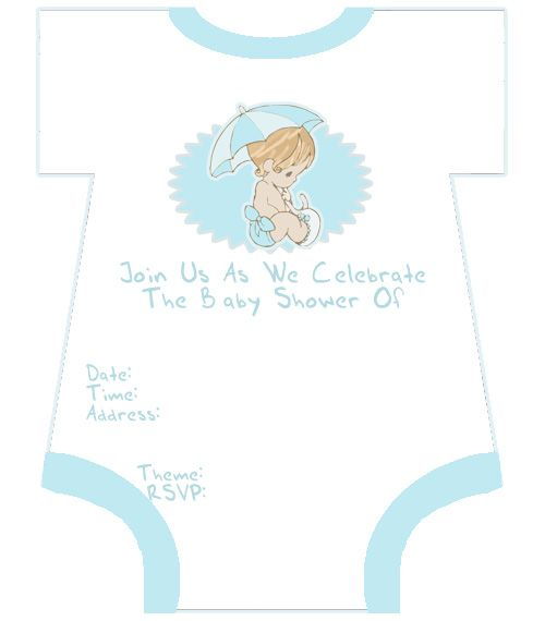 Great Precious Moments Baby Shower Invitation Template Are Just A
