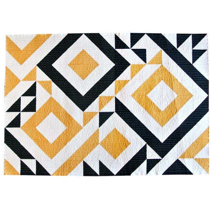 Triangle Jitters Quilt Pattern PDF Download  DIY Sewing for Beginners Original Modern Quilting Designs for Baby, Throw and Twin Sizes is part of Quilt patterns, Triangle quilt pattern, Triangle quilt, Modern quilting designs, Modern quilt patterns, Quilt pattern download -  COPYRIGHT INFO Quilt patterns cannot be reproduced and sold  Duplication of any kind is prohibited  Quilts made using Suzy Quilts patterns CAN be sold, however, design credit needs to be given  Only use photos with proper credit  Thanks!