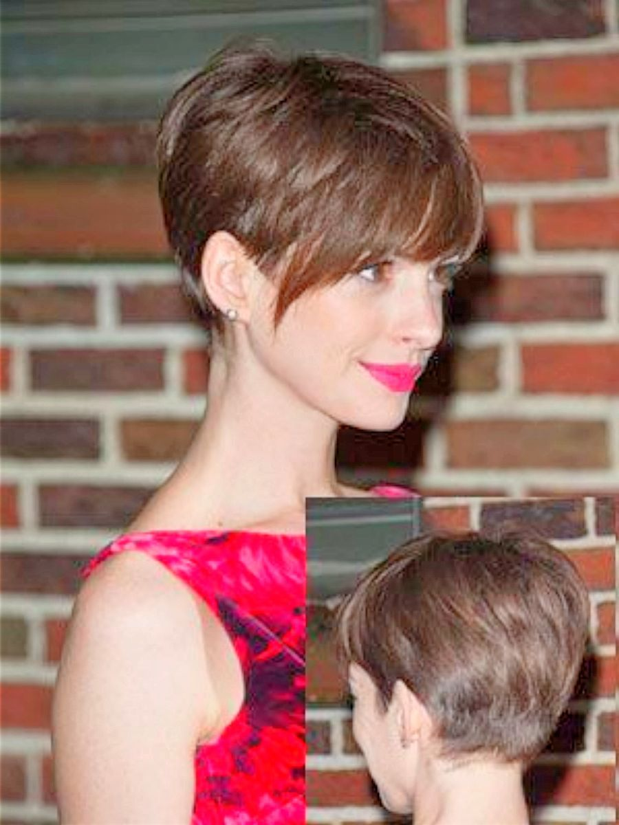 anne hathaway with pixie haircut - 10 best anne hathaway