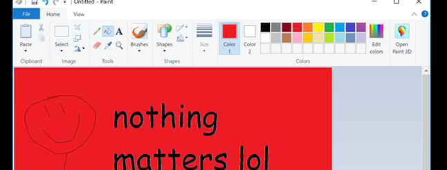 Microsoft Paint Was Never Going to Die, But It Made for Good ...