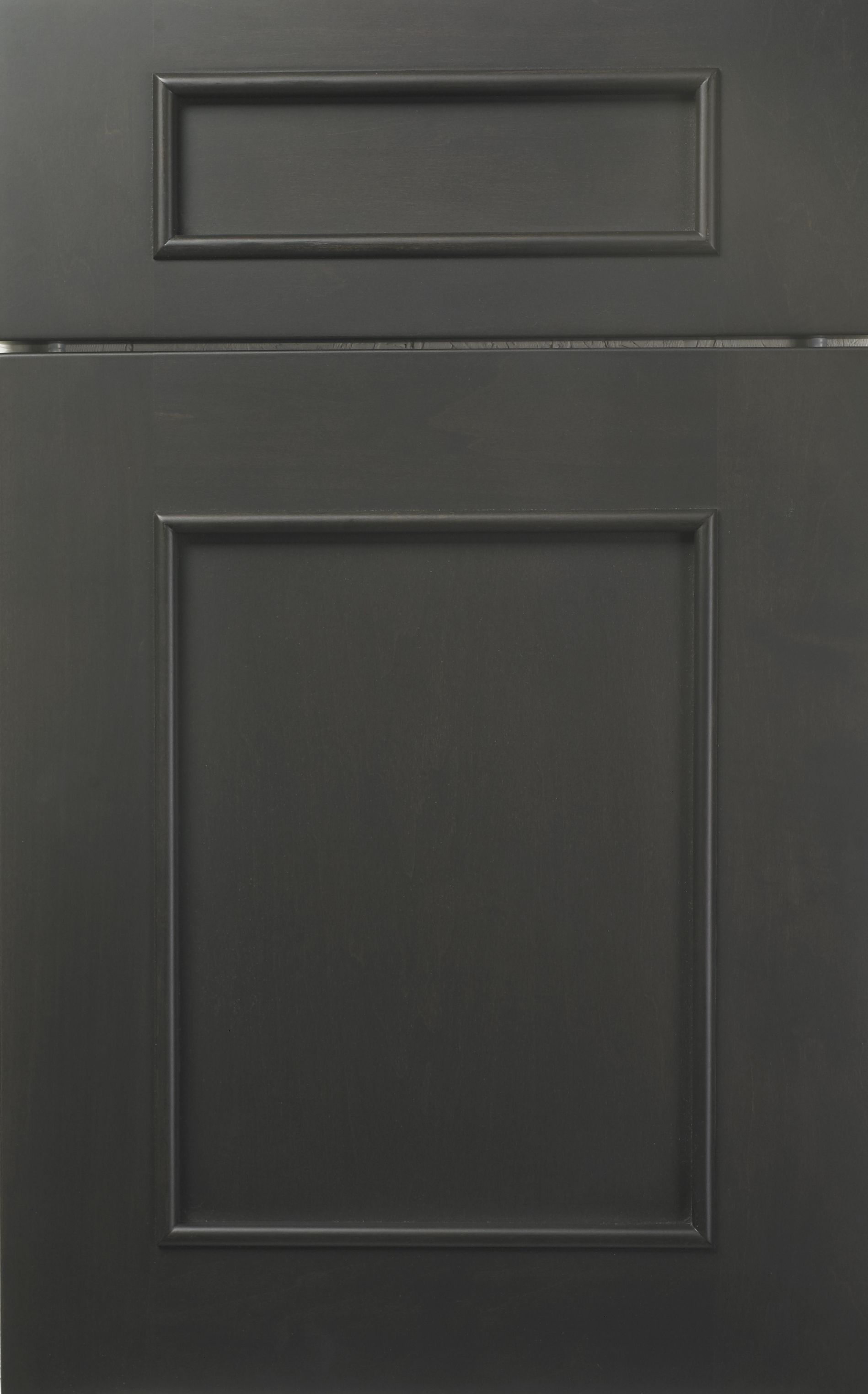 soho door style by woodmode shown in matte eclipse finish on maple wood modeboy