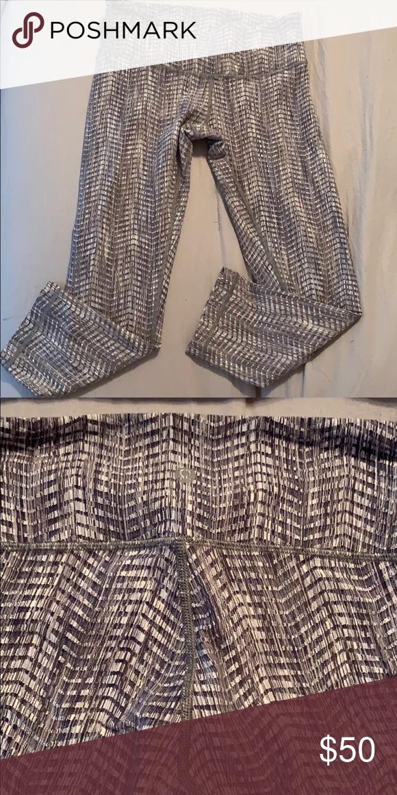 d9db3bb86a Lululemon Leggings Brand new lululemon leggings - Crop leggings Grey  herringbone Never worn - Great condition lululemon athletica Pants Leggings