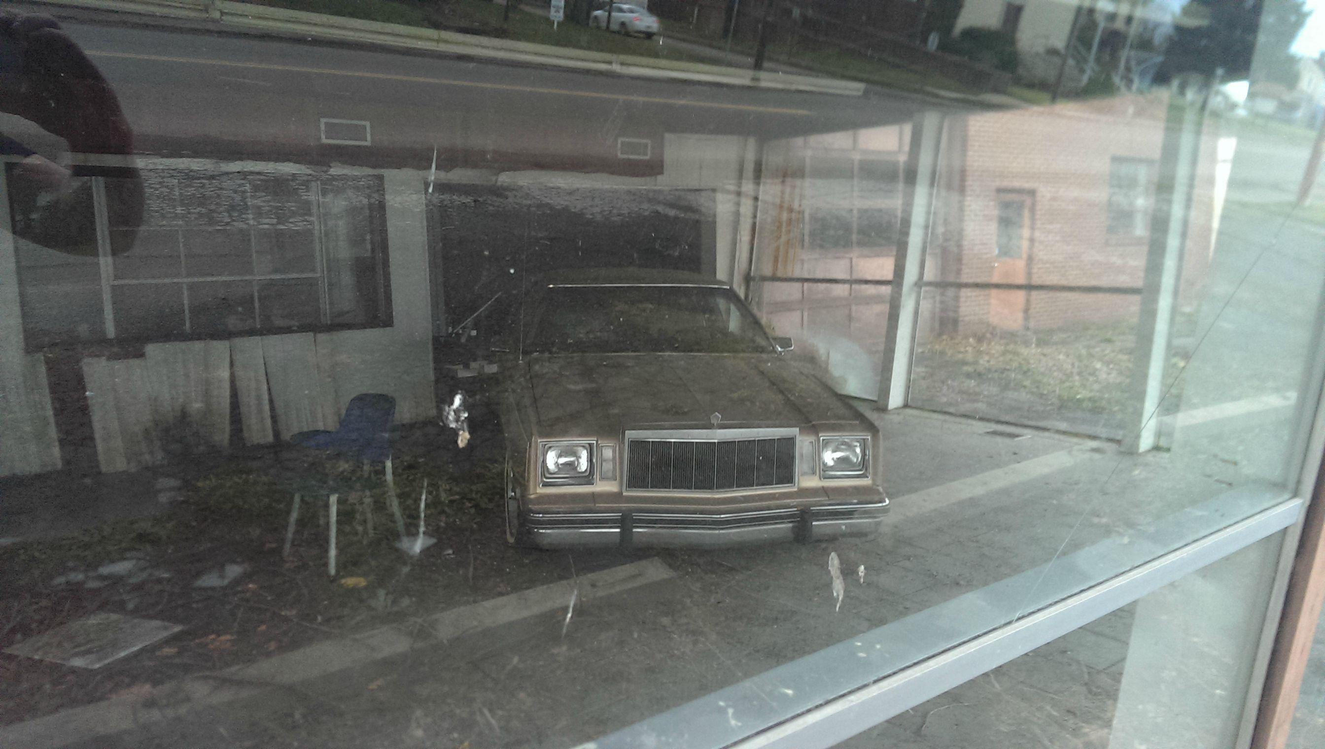 An Abandoned Chrysler Dealership In Ohio Abandoned Abandoned Cars Car Dealership
