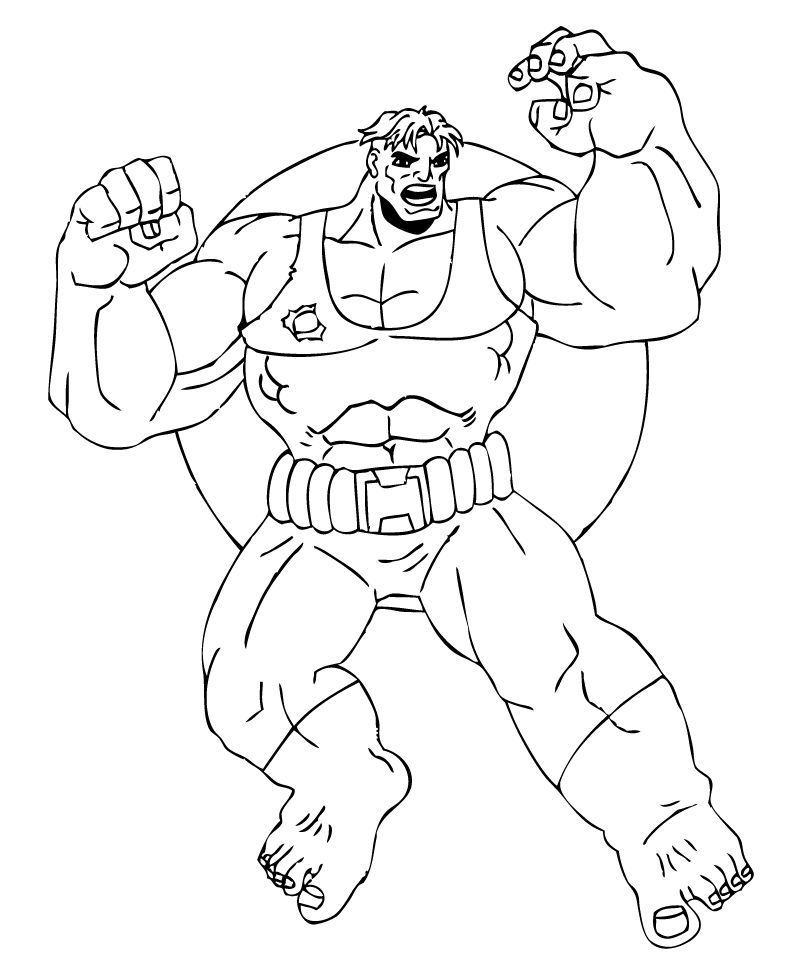 Color Online Marvel Coloring Hulk Coloring Pages Coloring Pages