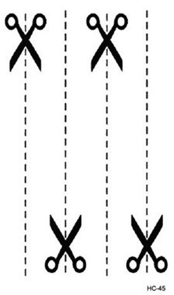 6 Sheets Wrist Body Art Henna Tattoo Stencil Flower: Blanche Lynn 4 Different Sheets Waterproof Temporary Body