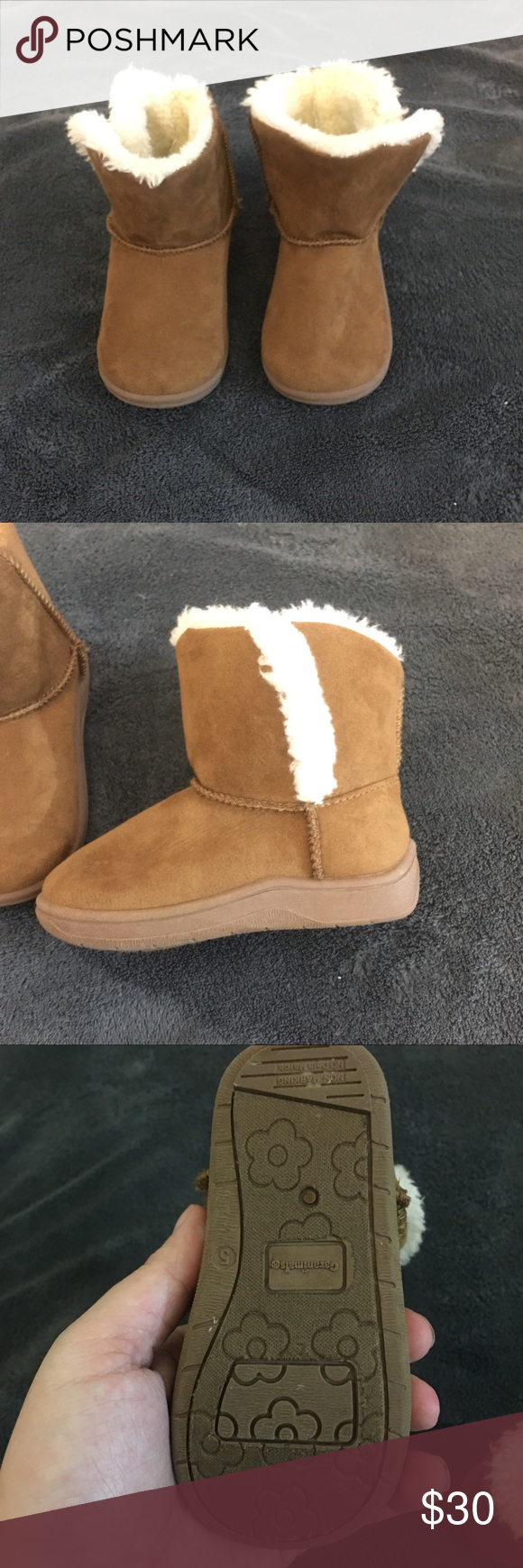 "504985bc6e2 Winter boots never used but I not have tags ""Fake uggs"" never worn ..."
