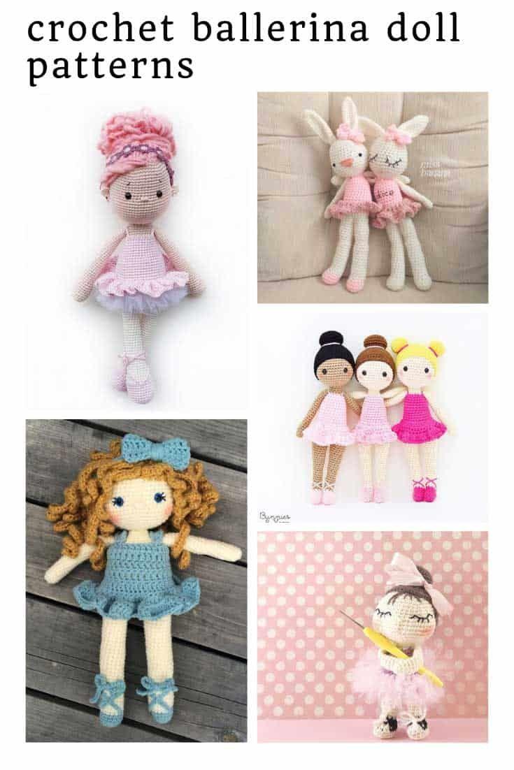 Cat Ballerina Amigurumi Doll - Free Crochet Pattern! - AmVaBe Crochet | 1102x735