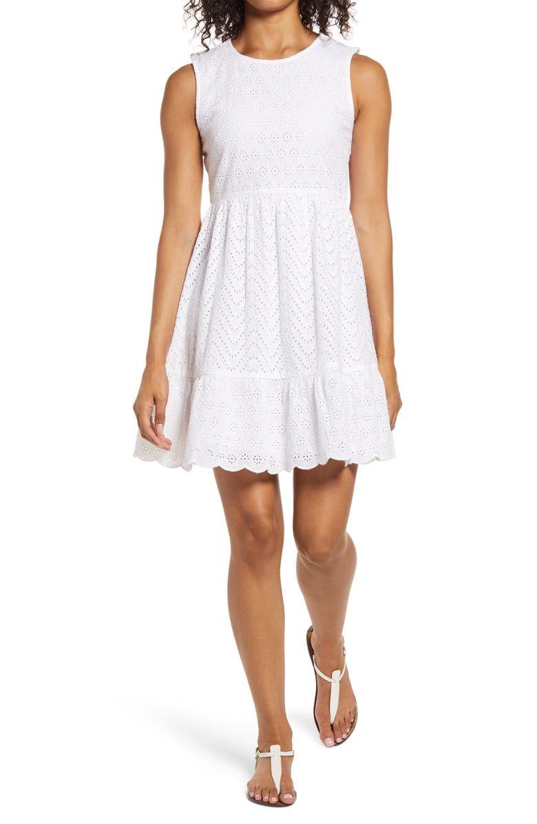 Vineyard Vines Allamanda Sleeveless Eyelet Dress Nordstrom Eyelet Dress Dresses Nordstrom Dresses [ 1196 x 780 Pixel ]