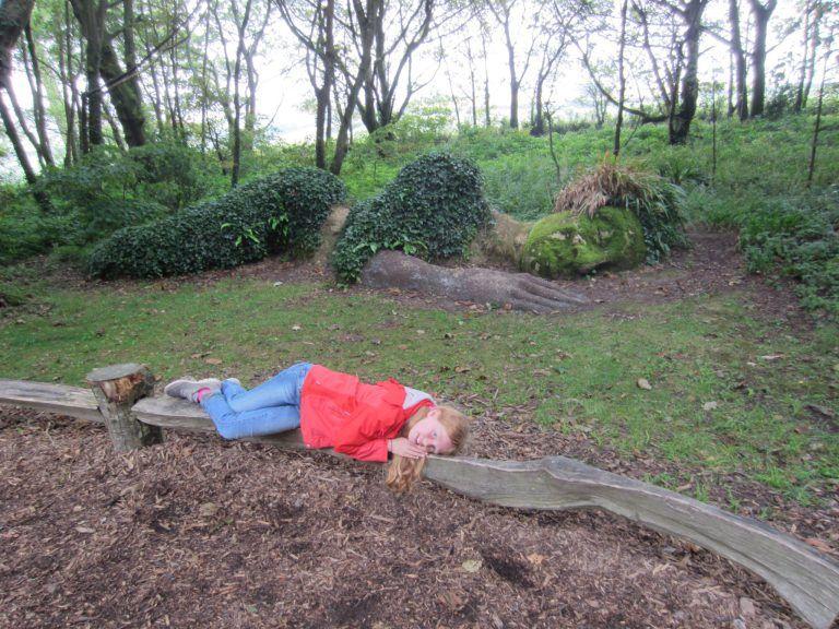 Cornwall mit Kindern, Lost Gardens of Heligan, Mud Maid