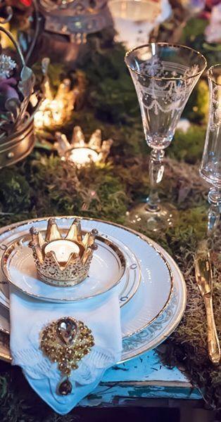 Fairy Tale Wedding Royal Wedding Themes Enchanted